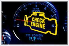 Common reasons the check engine light comes on